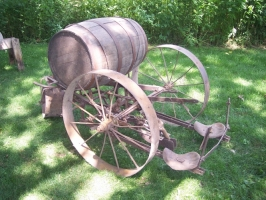 Tobacco planter, early 1900's. Donated by Nora Capaul from Westby, WI.